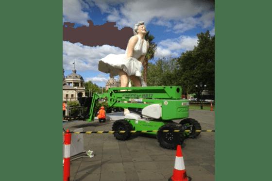 Bendigo Hire Marilyn Monroe Sculpture